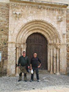 Tolva. Portada Santa María del Puy