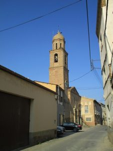 Castillonroy. Carretera