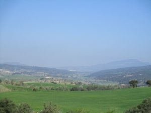 Nachá y la sierra de San Quilez