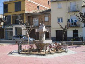 Alcampell. Plaza