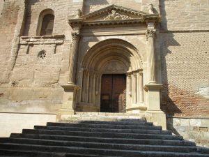 Tamarite de Litera. Portada Santa María La Mayor