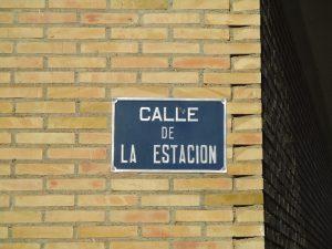 Castejón del Puente. Recordando a la estación