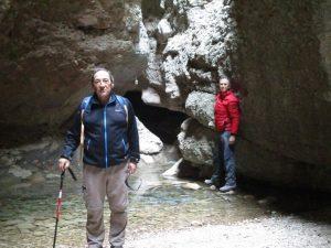 Gorgas de San Julián. Cascada
