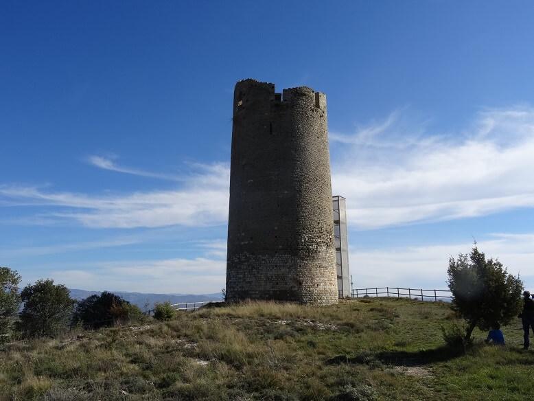 Viacamp. Torre del castillo