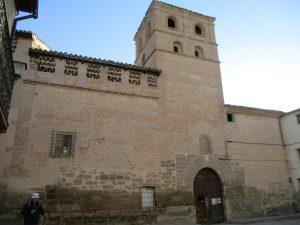 Casbas de Huesca. Monasterio de La Gloria