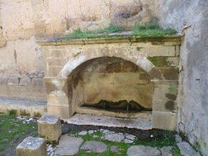Casbas de Huesca. Fuente del Monasterio