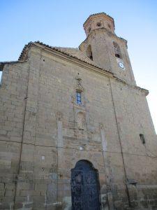 Casbas de Huesca. San Nicolás de Bari