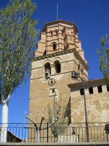 Sieso de Huesca. Torre campanario iglesia