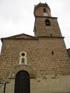 Esplús. Iglesia parroquial