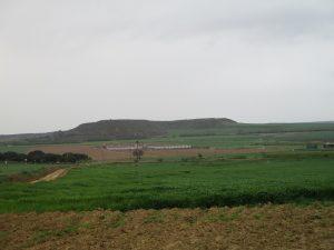 Esplús. Campos de cultivo