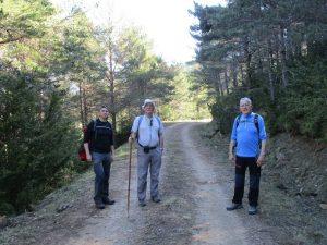 Camino la Collada de Fornosa