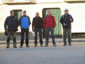 Casbas de Huesca. Iniciando la marcha