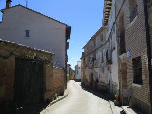 Sieso de Huesca. Calle Mayor