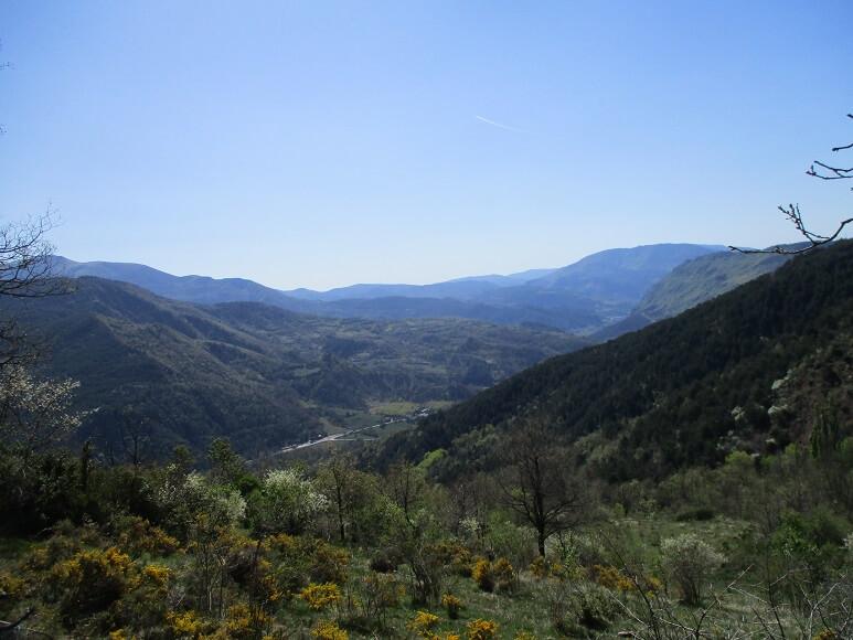 Lugar de encuentro de los ríos Baliera y Noguera Ribagorzana