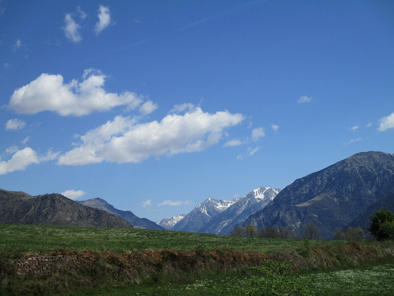 Valle de Barrabés. Montes de Viella