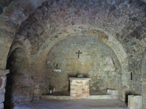 Bonansa. Interior ermita San Roque