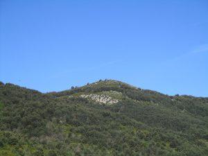 Ermita de San Salvador, en lo alto del cerro