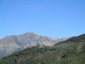 Pueblo de Escané. Montes de Castanesa