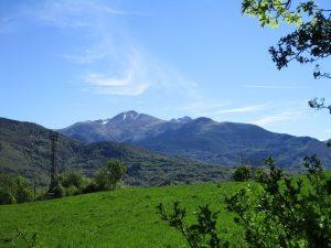 Cordal montañoso que separa los valles de Barrabés y de Bohí