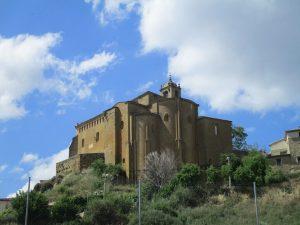 Murillo de Gállego. Iglesia del Salvador