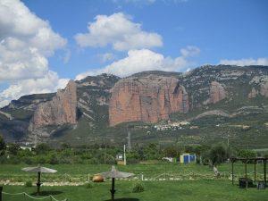 Mallos de Riglos, desde Murillo del Gállego