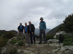 En lo alto de la Sierra de Bonés