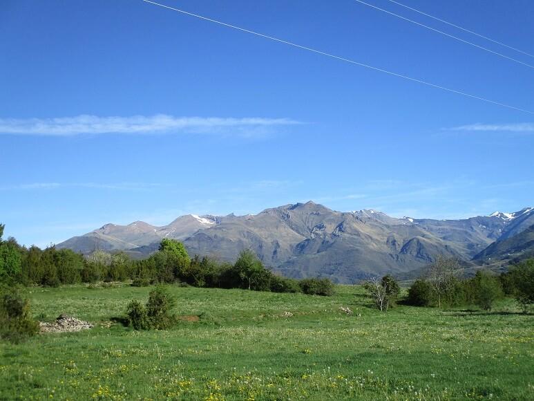 Desde Bonansa Montes de Castanesa