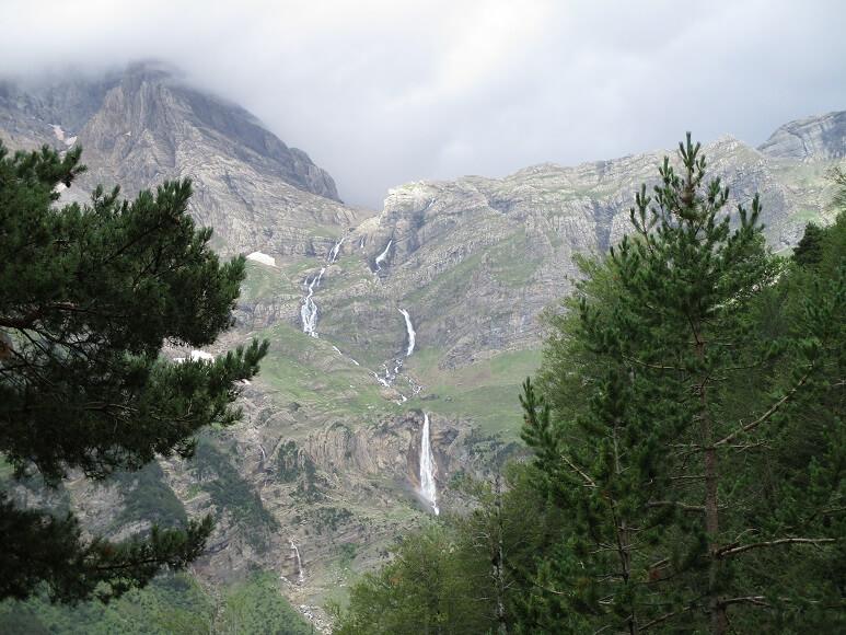 Pineta. Cascada del Cinca