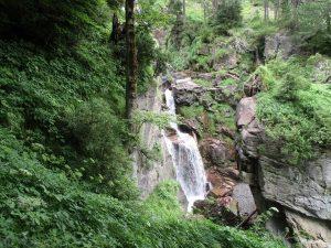 Cascadas barranco La Larri