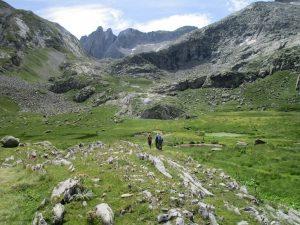 Valle de L'Escaleta. Camino del Coll de Toro