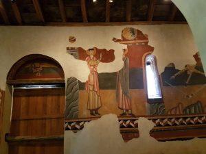 Boí. San Juan. Pinturas murales