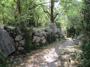 Llegando a Erill La Vall