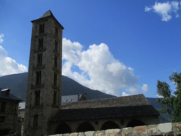 Erill La Vall. Santa Eulalia