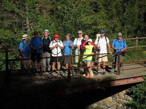 Puente de la saca, sobre la Aigüeta