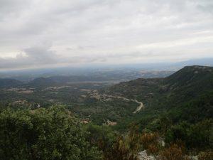 Valle del Ésera, desde la sierra de Torón