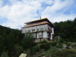 Templo Budista. La Shedra
