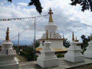 Templo Budista. Estupas