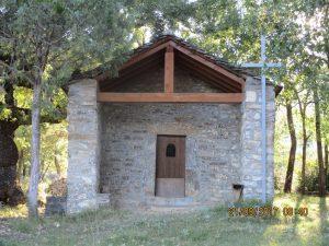 Laspuña. Ermita de San Andrés