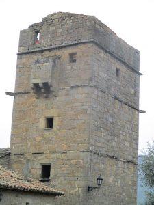 Aluján. Casa Mur. Torre y su matacán