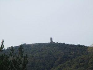 Muro de Roda en lo alto