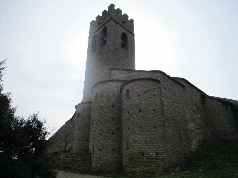 Muro de Roda. Iglesia de La Asunción