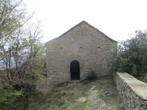 Muro de Roda. Ermita de Santa Bárbara