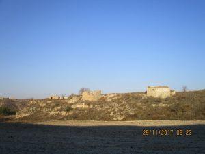 San Esteban de Litera. Construcciones con piedra de yeso