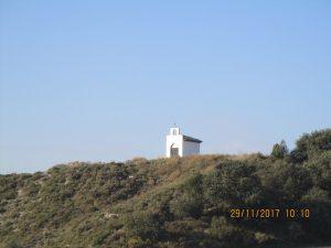 Pelegriñón. Nueva ermita de Santa Ana