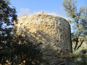 Pelegriñón. Ábside iglesia de Santa Ana