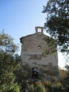 Pelegriñón. Santa Ana en ruinas