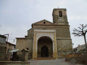 Salas Bajas. San Vicente Mártir