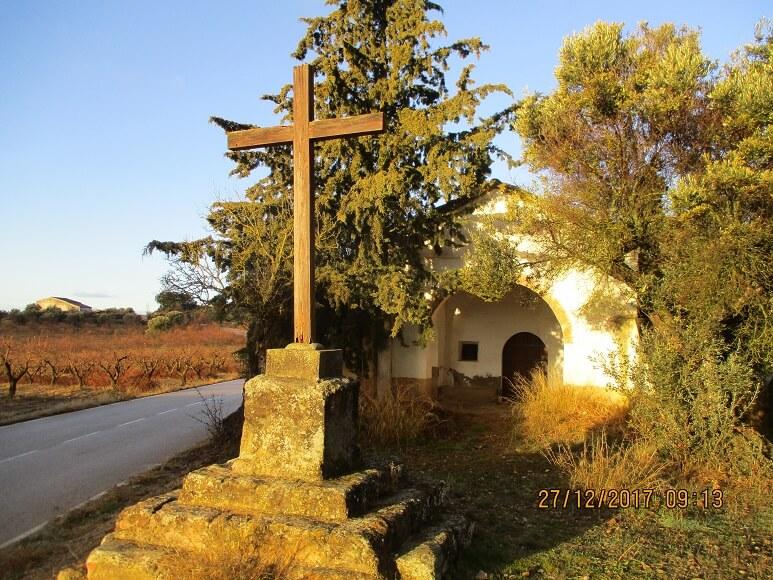 Cregenzán. Ermita de Santa Bárbara