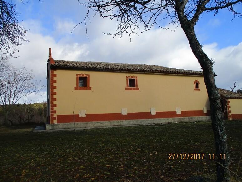 Coscojuela de Fantova. Ermita de la Virgen del Perpetuo Socorro