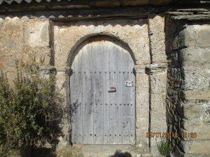 Portada ermita de San Benito